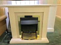 Dimplex Electric Fireplace model WHT20