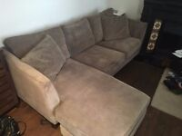 L Shaped 3-seat MADE Sofa for Sale - 6 months old
