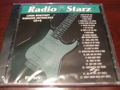 Radio Starz Cd G Karaoke Linda Ronstadt Rsz 619 Sealed 22 Tracks