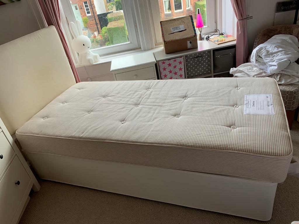 Picture of: White Company Single Divan Bed With 2 Drawers In Blackhall Edinburgh Gumtree