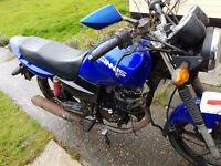 Sinnis max 2 125cc spares and repairs