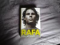 "Hardback Book, RAFA "" MY STORY"" by RAFAEL NADAL with John Carlin."