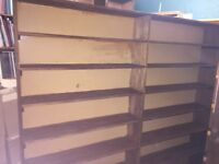 Large wooden bookcase free to good home