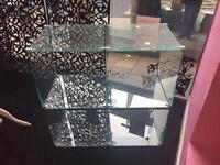 Glass shop display