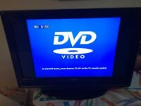 """32"""" TV with built-in DVD player + HDMI"""