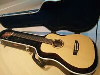 Little Martin LX1E LXM Baby Taylor travel guitar SKB hard case/flight case