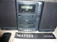 Matsui MCH650 Micro Hi-Fi