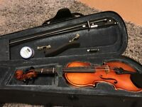 Beginner violin size 1/8 (for 4-5years old)