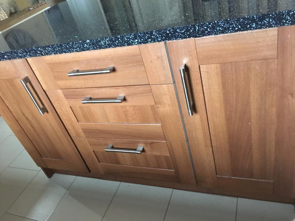 Very Large Amount Of Kitchen Cabinet Doors Drawer Fronts And