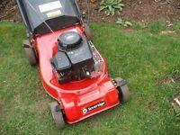 Sovereign Petrol Lawn Mower (self propelled) full working order