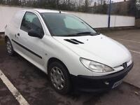 2001 PEUGEOT 206 1.4 HDI CAR DERIVED VAN, ONLY 70,000 MILES