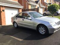 Mercedes-Benz, C 180, Saloon, 2003, Auto, History, 65,800miles