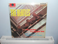 The Beatles Please, Please Me and Rubber Soul Mono LPs
