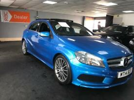 "Mercedes-Benz A Class 1.5 A180 CDI AMG Sport 7G-DCT 5dr 18""ALLOY PANORAMIC ROOF SATNAV"
