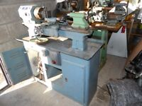 Boxford Metal Lathe and cabinet