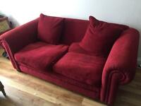 Free to collect sofa & 2 cushions