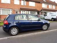 VW GOLF 157000 MILES VW FSH ,NEW CLUTCH FITTED AUG 2015,CAM BELT CHANGED FEB 2016