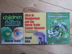 David Icke books - make great christmas present - conspiracy theory