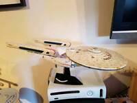 Star Trek ENTERPRISE-A model Starship