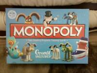 Wallis and Gromit monopoly collectable, in great condition