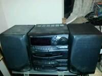 Jvc mini hifi sound system
