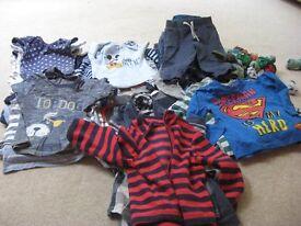 BABY BOYS CLOTHES BUNDLE AGE 12-18MONTHS