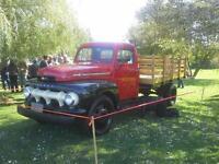 Mercury 1952 6 roues offert en location