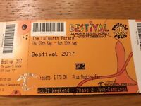 2x Bestival 2017 Tickets Non-Camping 7-10 September @ Lulworth Estate, Dorset
