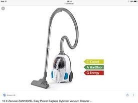 ZANUSSI ZAN1802EL NEW EASY POWER BAGLESS CYLINDER VACUUM CLEANER