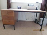 retro mahogany desk, superb addition to enhance your office space.