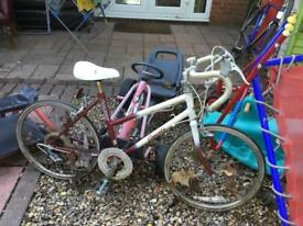 Small vintage racer child's £40