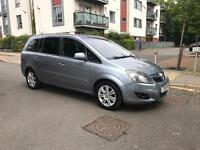Vauxhall Zafira 7 Seats 2010 Tinted Windows Fully Leather Interior Low Mileage 1 Year Mot