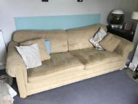 FREE - Delcor Jumbo Lofa Sofa (4seater)