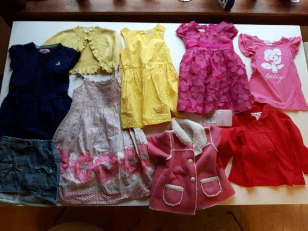 80cb1c8c0 Bundle of Baby Girl Clothes 12 - 24 Months
