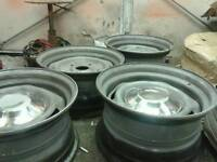 """Transit staggered 15"""" banded wheels"""