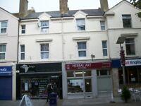 FOLKESTONE Pedestrian Area Freehold Shop +ground rent 3 flats 2 shops