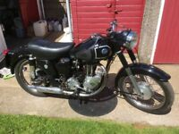 AJS16 MS 350cc CLASSIC JAM POT MOTORCYCLE