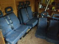14 LDV Convoy Minibus seats - good condition