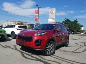 2017 Kia Sportage EX AWD | 7inch Screen | Android Auto | Leather