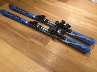 Unisex Head Impulse skis with Head Diagonal bindings