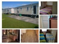3&4 bed caravans for hire