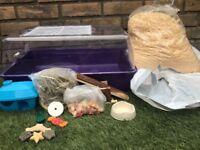Hamster Cage Starter Kit