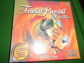 Trivial Pursuit for Kids 8 – 12 years (Parker)