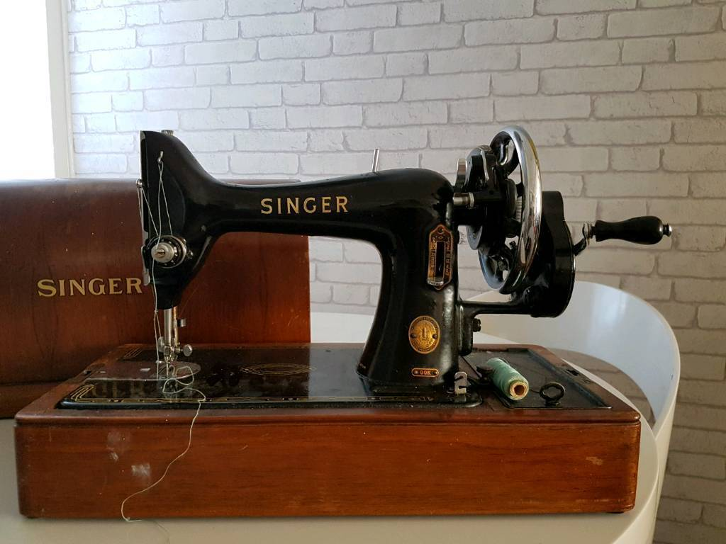 Singer sowing machine relisted due to timewaster