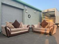 Beautiful dfs sofas 3&2 delivery 🚚 sofa suite couch furniture
