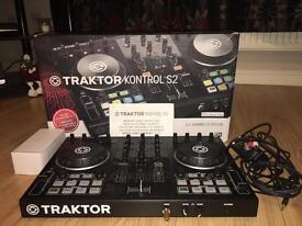 Traktor Kontrol S2 Native Instruments with Pro 2 software
