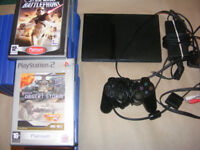 Playstation 2 Console & 26 Games