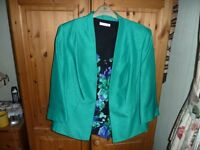 Jacques Vert Occasion Jacket and matching top Size 16