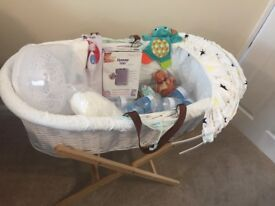 Baby Bundle with Moses basket