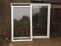 Patio sliding door UPVC double glazed French windows extension building materials
